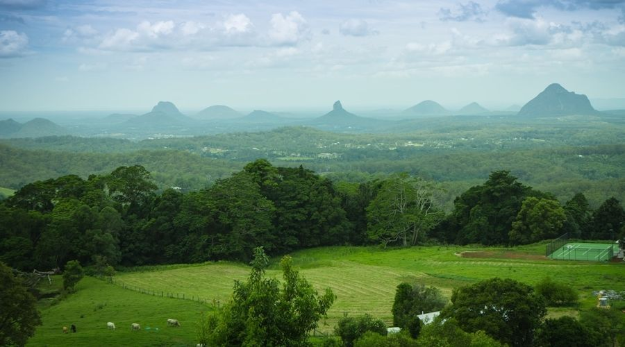 The Scenic Glass House Mountains