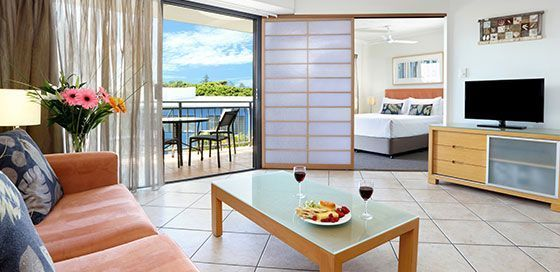 One Bedroom Apartments Caloundra
